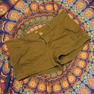 OP Brown Khaki Shorts Boho